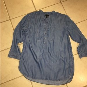 J Crew denim tunic